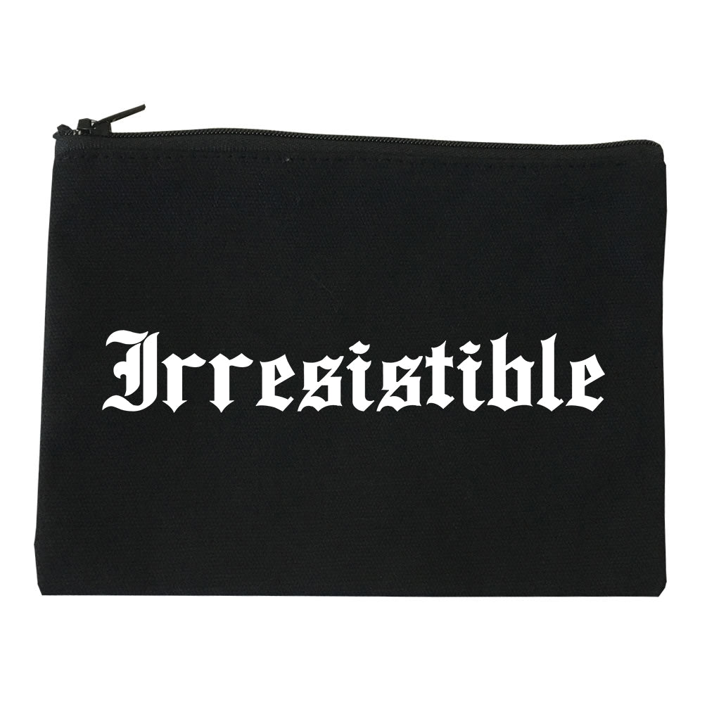 Irresistible Goth Graphic Makeup Bag Red