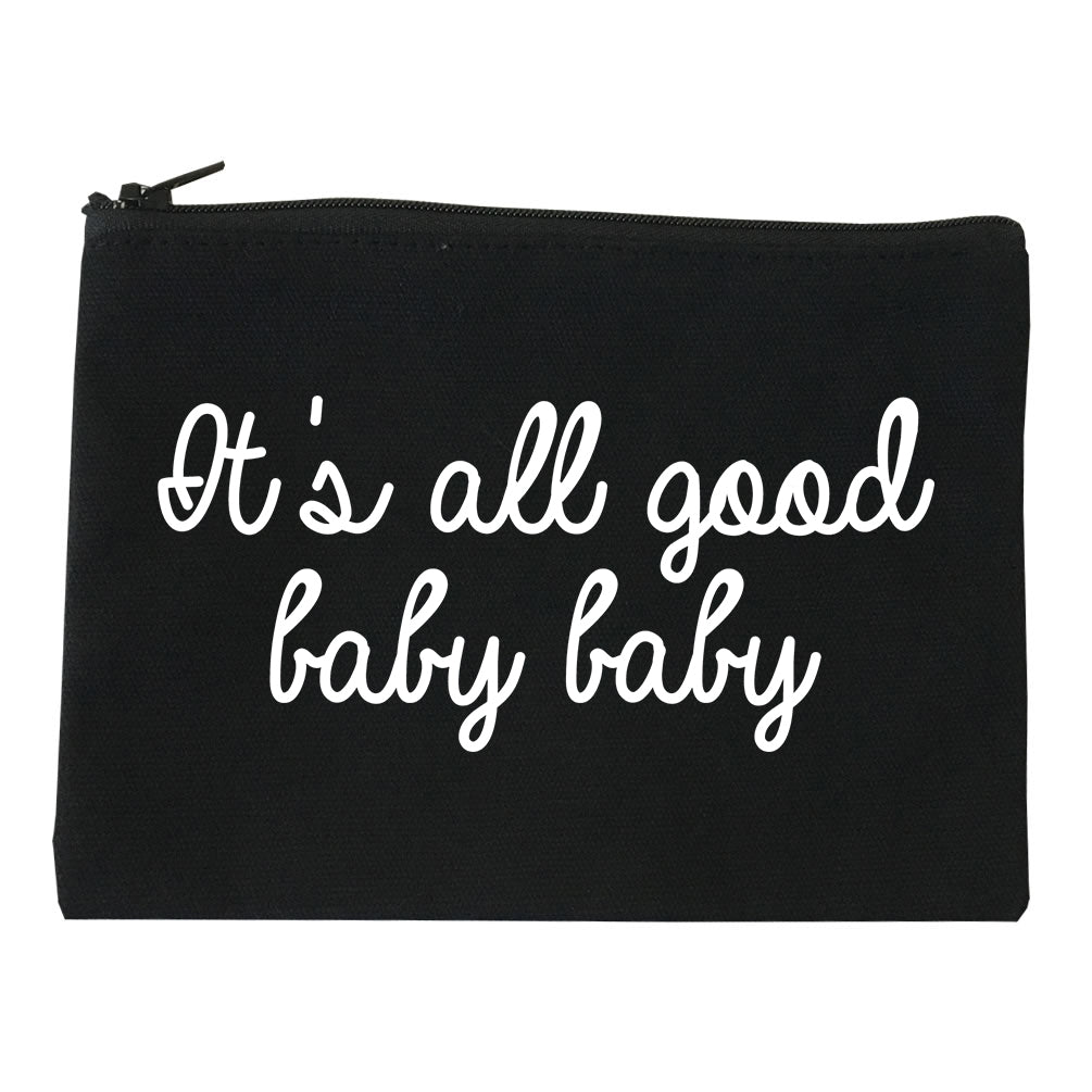Its All Good Baby Baby Black Makeup Bag