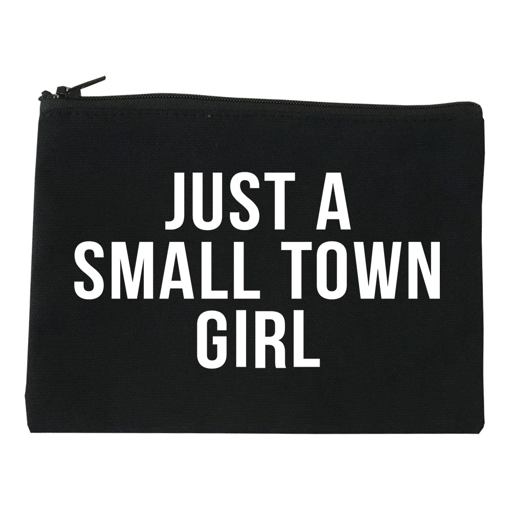 Just A Small Town Girl Country Makeup Bag Red