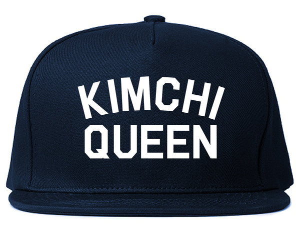 Kimchi Queen Food Blue Snapback Hat