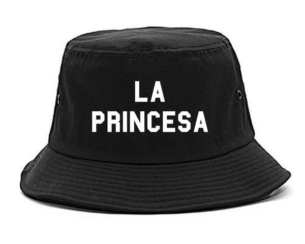 La Princesa Spanish Chest black Bucket Hat
