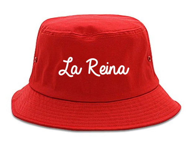 La Reina Spanish Queen Chest red Bucket Hat