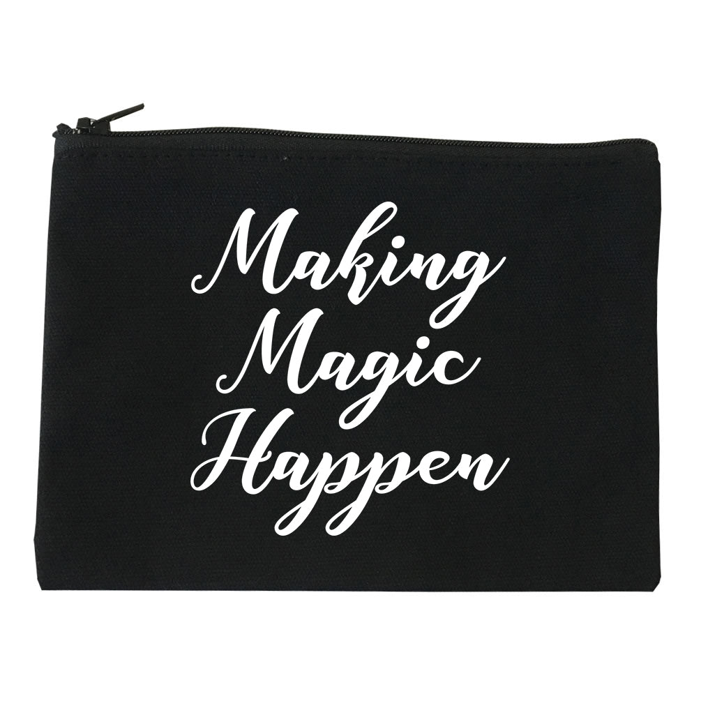 Making Magic Happen Makeup Bag Red