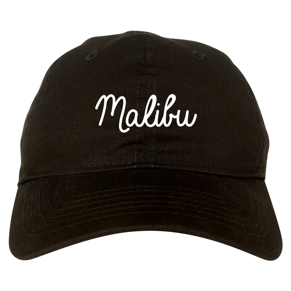 Malibu California Chest black dad hat