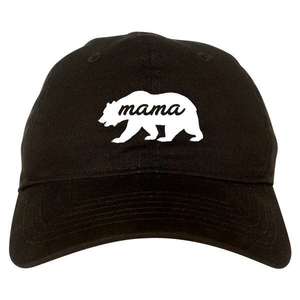 Mama Bear Animal black dad hat