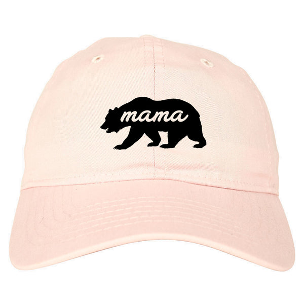 Mama Bear Animal pink dad hat
