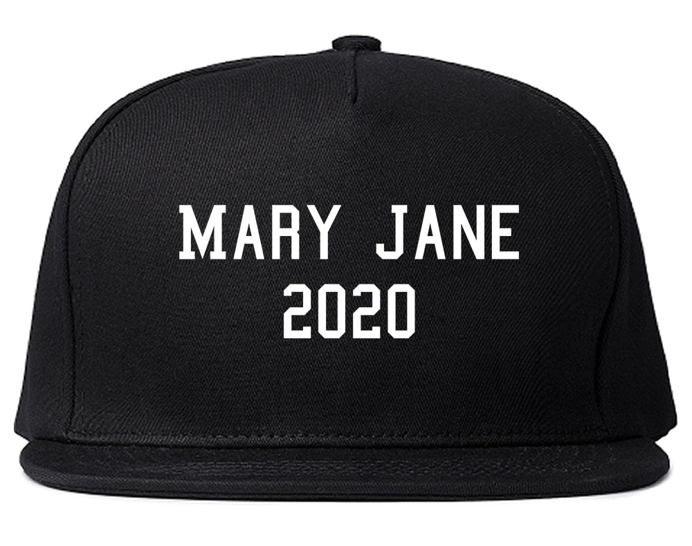 Mary Jane 2020 Snapback Hat Black