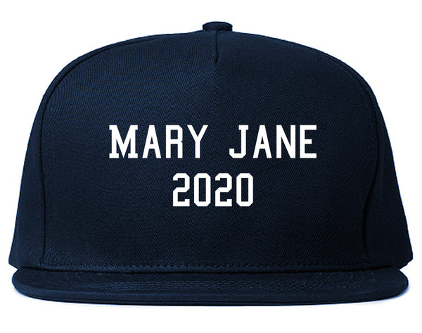 Mary Jane 2020 Snapback Hat Blue