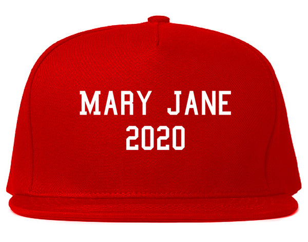 Mary Jane 2020 Snapback Hat Red