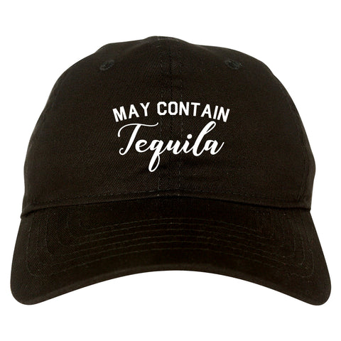 May Contain Tequila Mexico Vacation Black Dad Hat