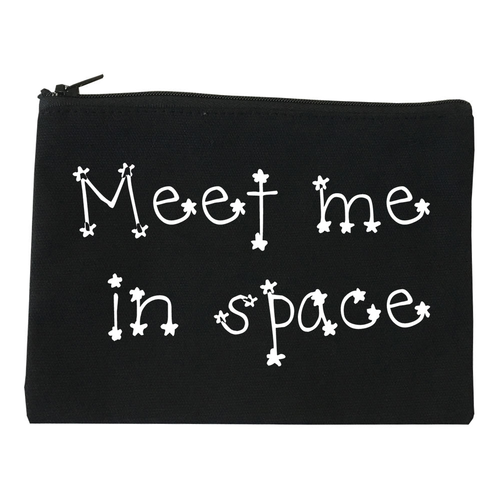 Meet Me In Space Makeup Bag Red