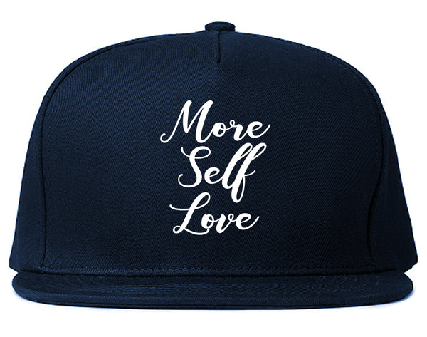 More Self Love Blue Snapback Hat