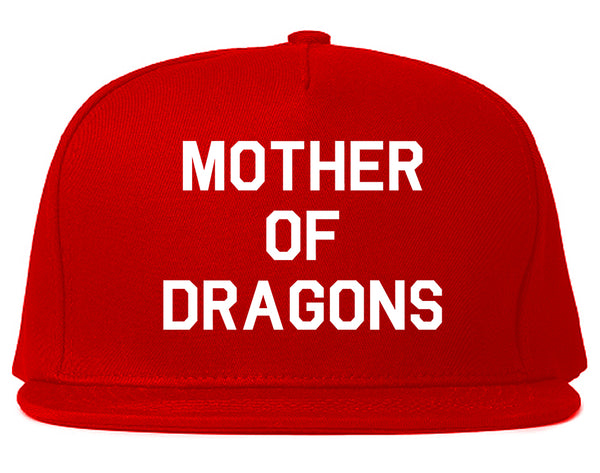Mother Of Dragons Red Snapback Hat