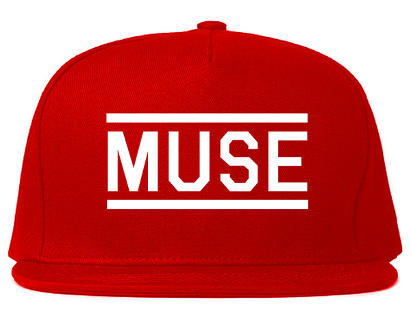 Muse Woman Snapback Hat Red