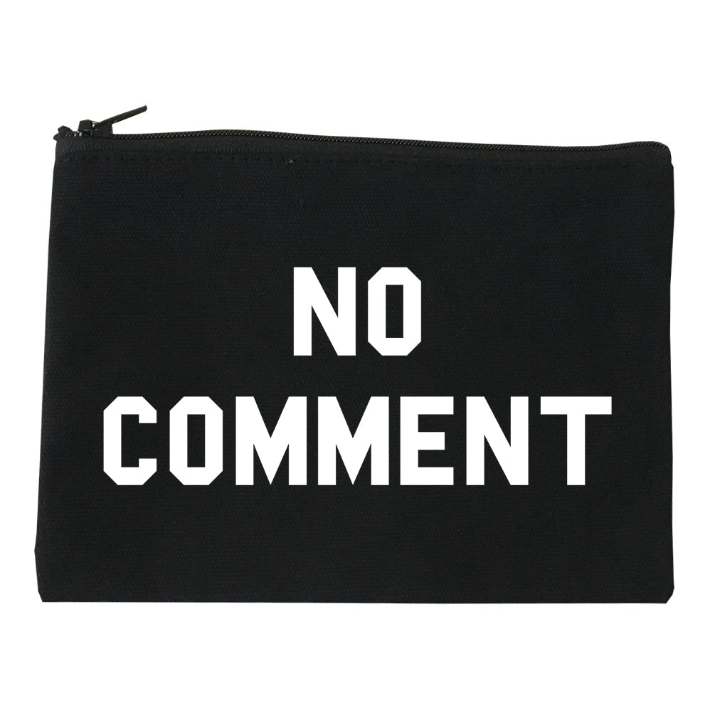 No Comment Makeup Bag