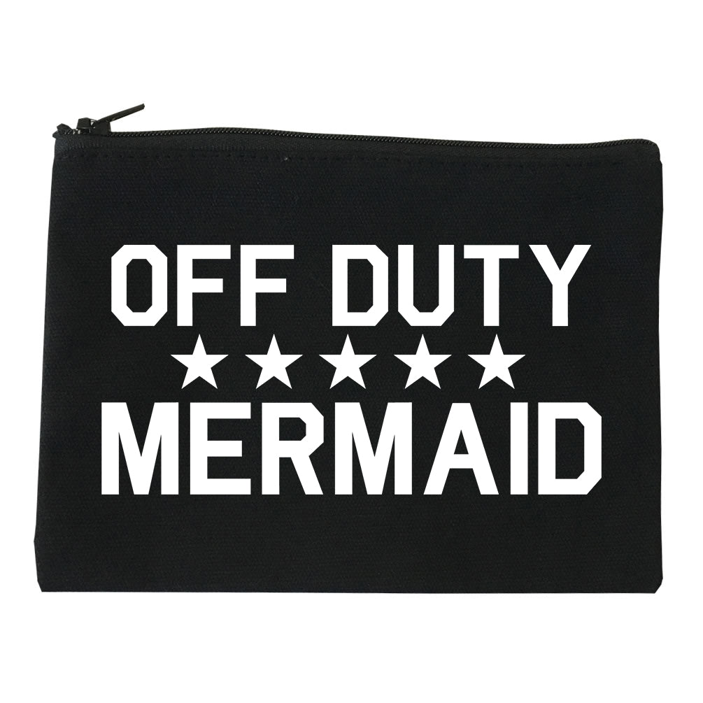Off Duty Mermaid black Makeup Bag