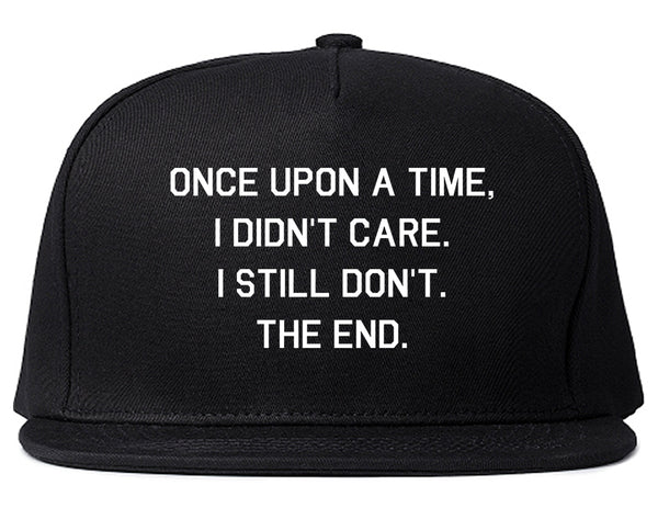 Once Upon A Time Black Snapback Hat