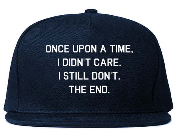 Once Upon A Time Blue Snapback Hat