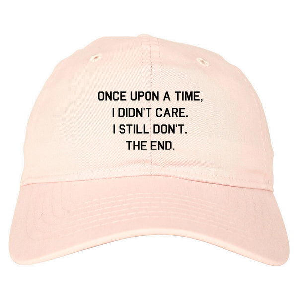 Once Upon A Time pink dad hat