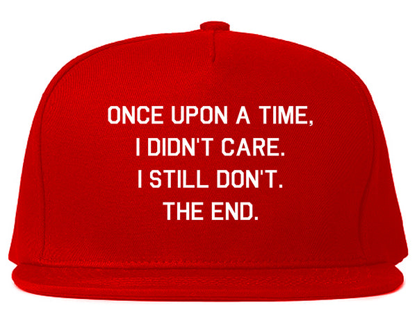 Once Upon A Time Red Snapback Hat