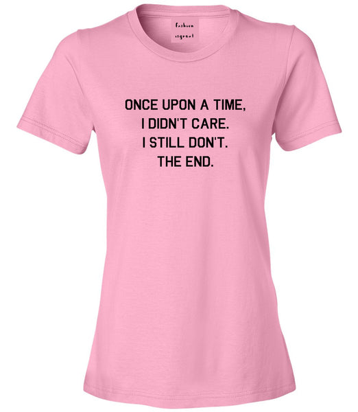 Once Upon A Time Pink Womens T-Shirt