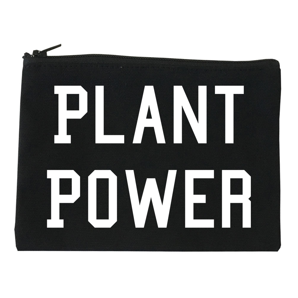 Plant Power Makeup Bag Red