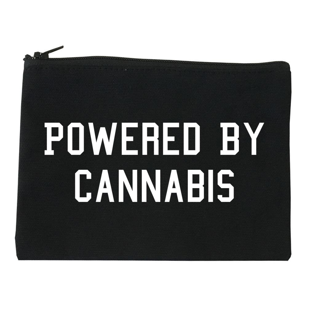 Powered By Cannabis Makeup Bag Red