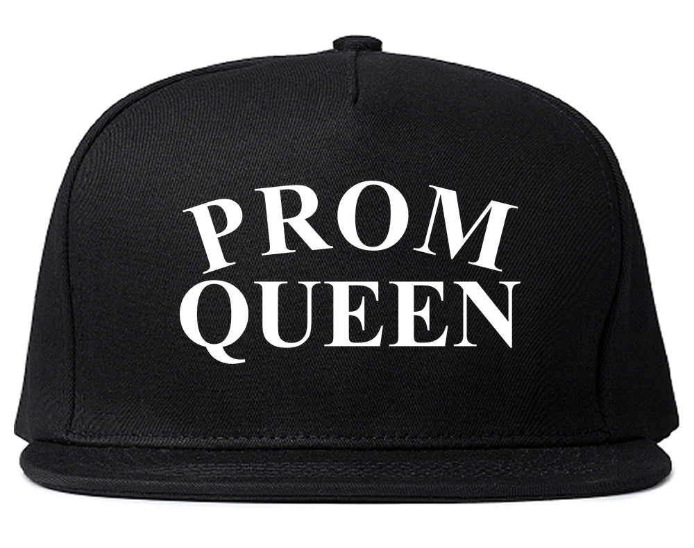 Prom Queen Snapback Hat Black