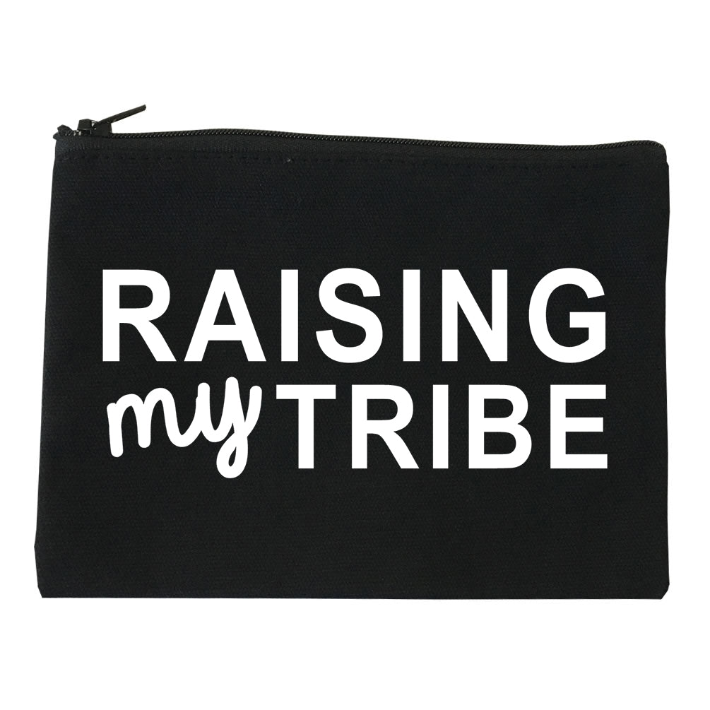 Raising My Tribe Mom Life Makeup Bag Red