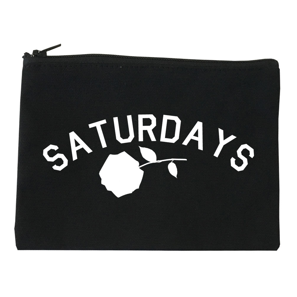 Saturdays Rose Makeup Bag Red