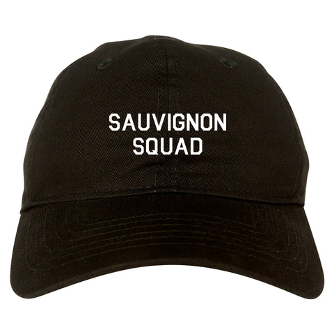 Sauvignon Squad Bachelorette Party Black Dad Hat