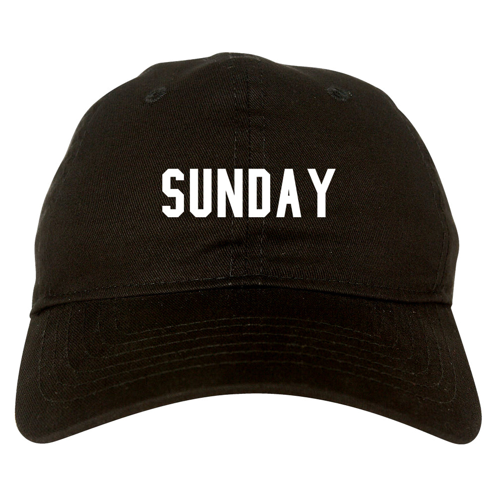 Sunday Days Of The Week black dad hat