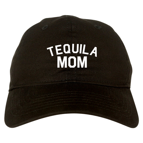 Tequila Mom Funny black dad hat