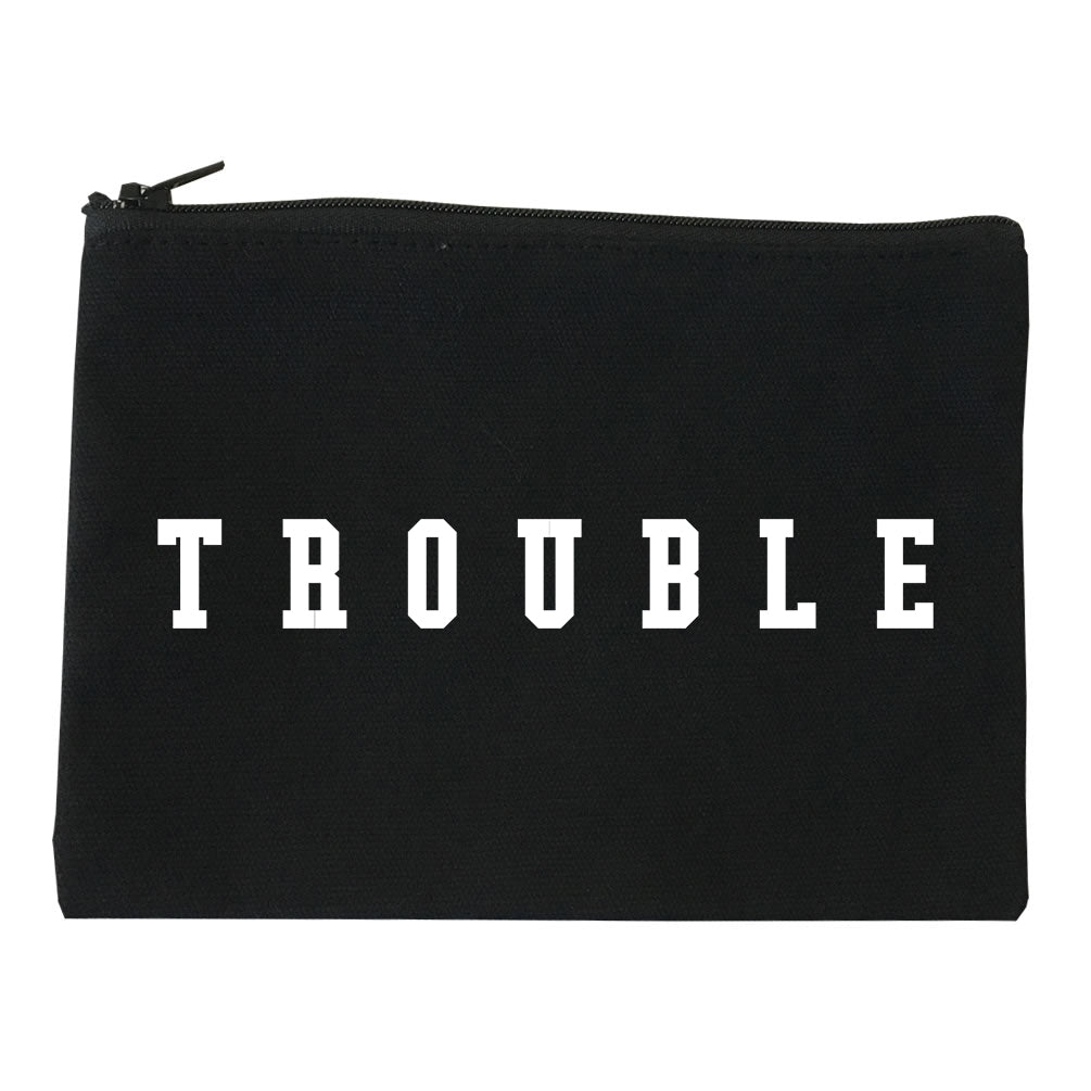 Trouble Makeup Bag Red
