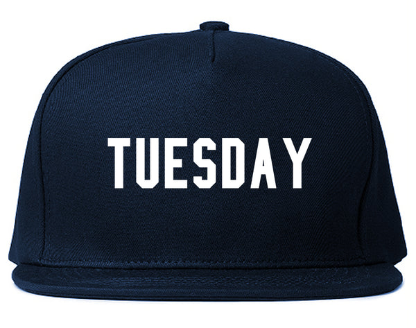 Tuesday Days Of The Week Blue Snapback Hat