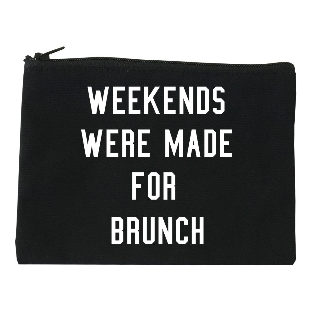 Weekends Were Made For Brunch Makeup Bag
