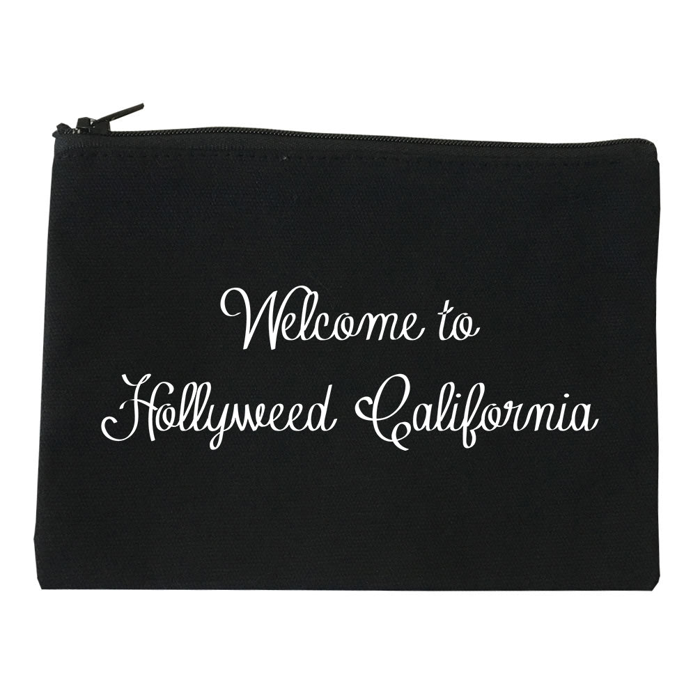 Welcome To Hollyweed California Makeup Bag Red