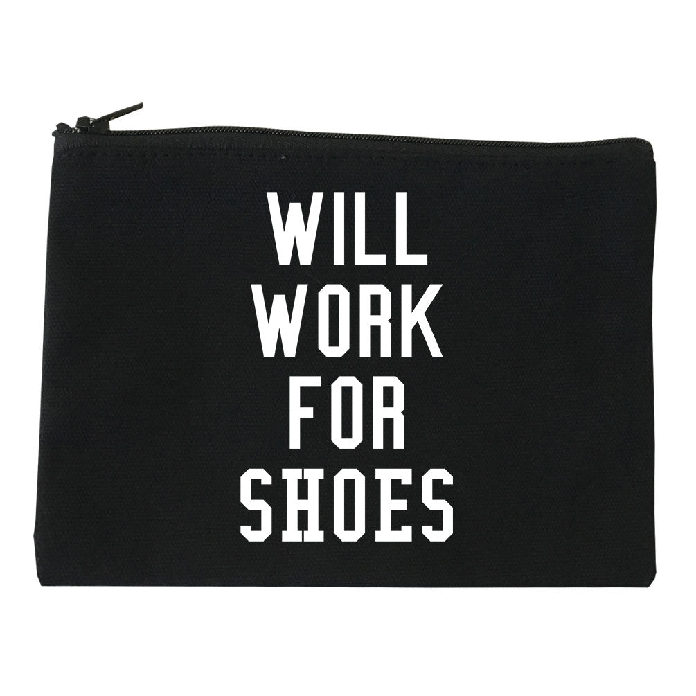 Will Work For Shoes Makeup Bag