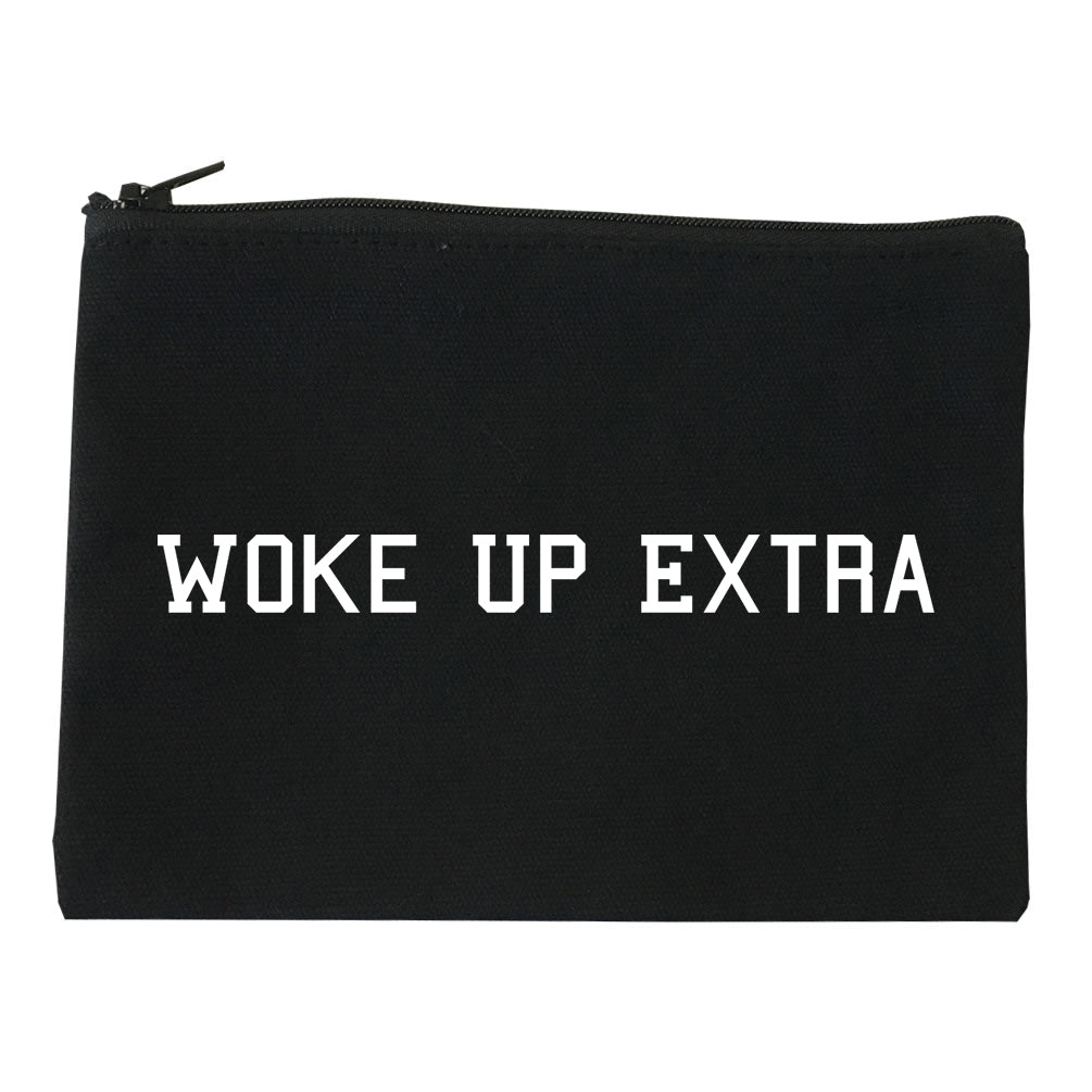 Woke Up Extra Makeup Bag Red