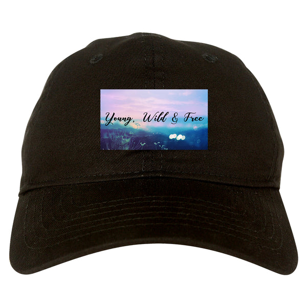 Young Wild Free Spirit black dad hat