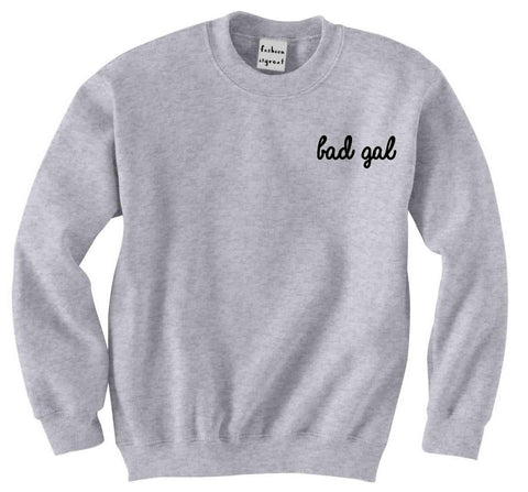 Bad Gal Pocket Sweatshirt