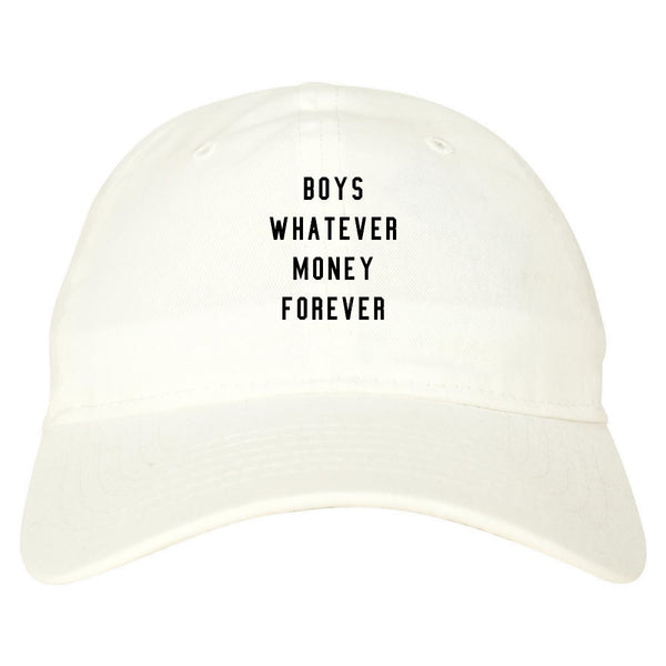 Boys Whatever Money Forever Dad Hat
