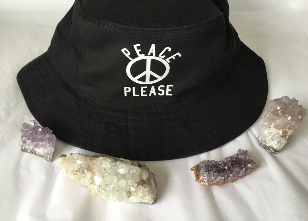 Peace Please Bucket Hat
