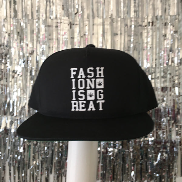 Fashionisgreat Weed Leaf Box Snapback