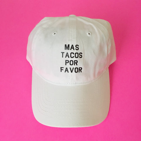 Mas Tacos Por Favor Dad Hat