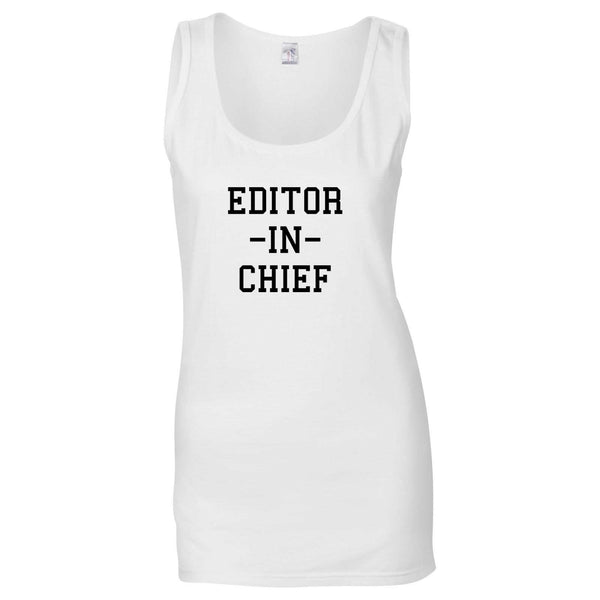Editor In Chief Tank Top