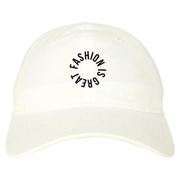 Fashionisgreat Circle Logo Dad Hat