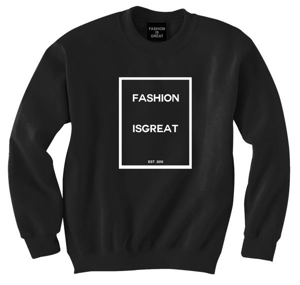 Fashionisgreat Block Logo Sweatshirt