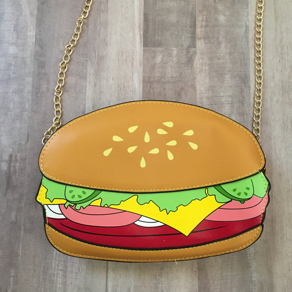 Hamburger Crossbody Bag