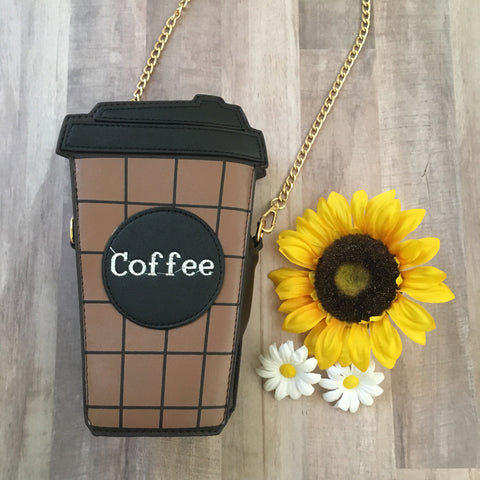 Coffee Lover Crossbody Purse